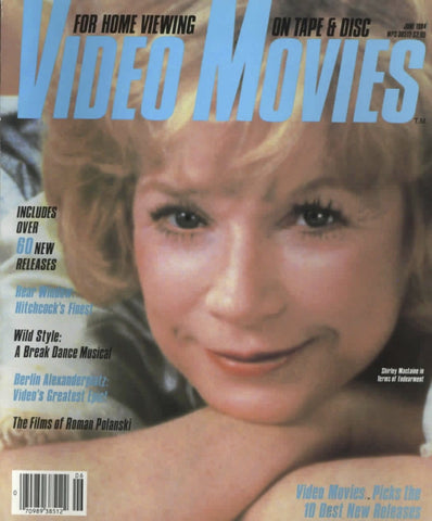 Video Movies June 1984 Magazine Back Issue - Vintage Movie Memorabilia - Rare Magazine Collection