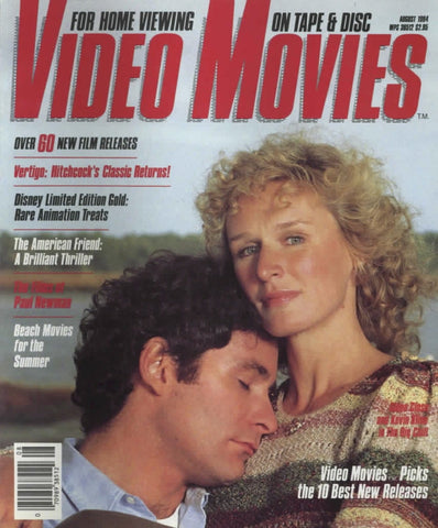 Video Movies August 1984 Magazine Back Issue - Vintage Movie Memorabilia - Rare Magazine Collection