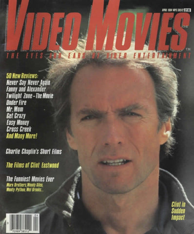 Video Movies April 1984 Magazine Back Issue - Vintage Movie Memorabilia - Rare Magazine Collection
