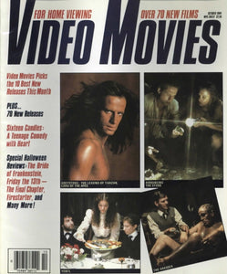 Video Movies December 1984 Magazine Back Issue - Vintage Movie Memorabilia - Rare Magazine Collection