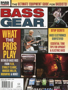 Bass Gear Magazine Back Issue