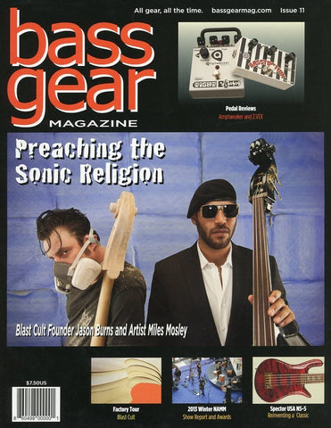 Bass Gear Magazine Back Issue - May 2013