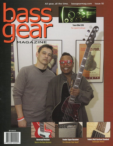 Bass Gear Magazine Back Issue - January 2013