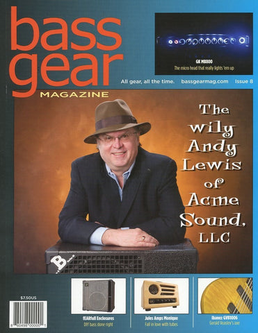 Bass Gear Magazine Back Issue - June 2012