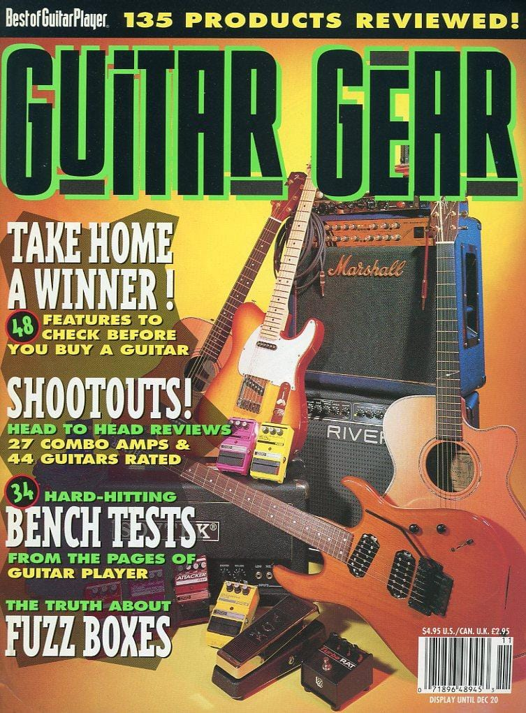 Guitar Gear Magazine Back Issue