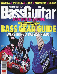 2007 Bass Buyer's Guide Magazine Back Issue