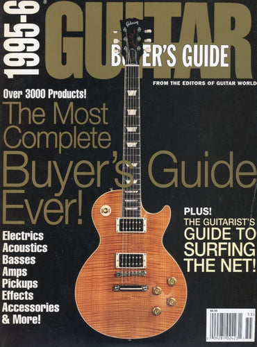 1995-1996 Buyer's Guide Magazine Back Issue