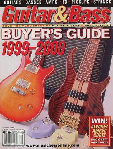 1999-2000 Guitar & Bass Buyer's Guide Magazine Back Issue