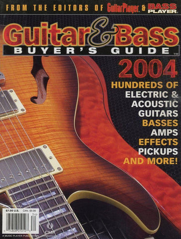 2004 Guitar & Bass Buyer's Guide Magazine Back Issue