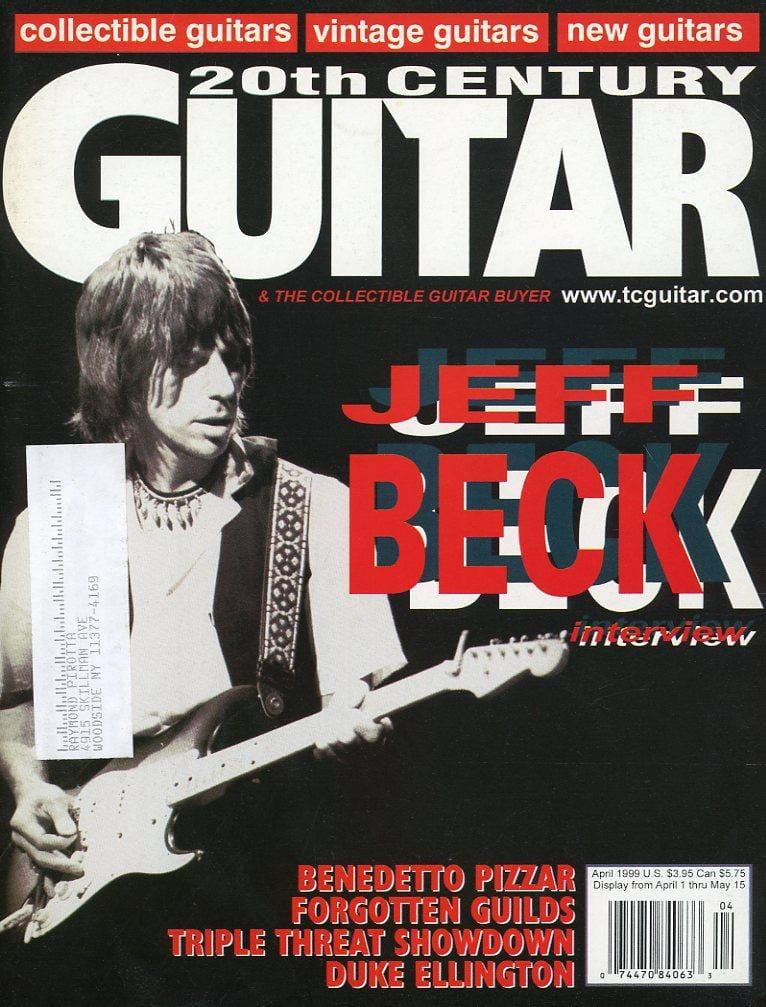 20th Century Guitar - April 1999 (Magazine Back Issue)