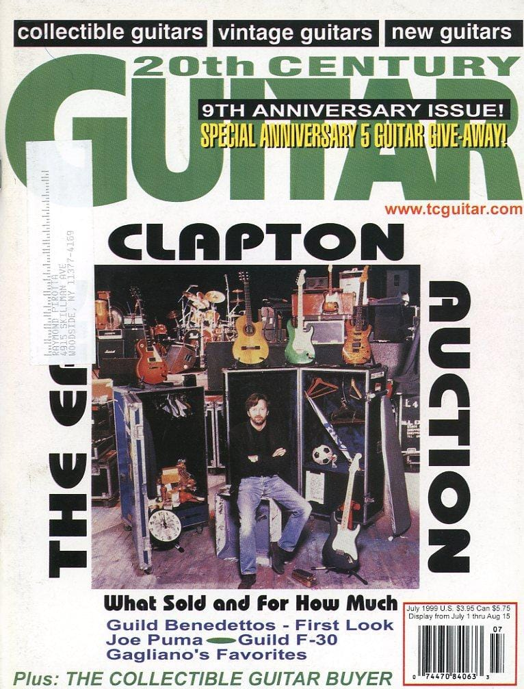 20th Century Guitar - July 1999 (Magazine Back Issue)