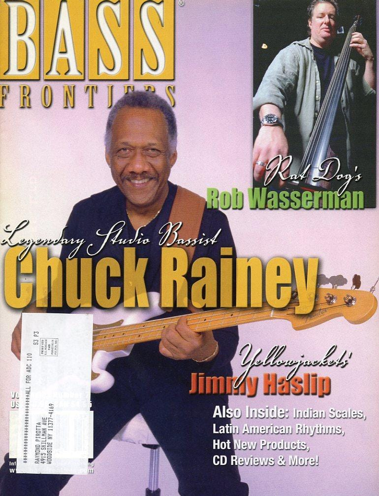 Bass Frontiers Magazine Back Issue Volume 8 #2