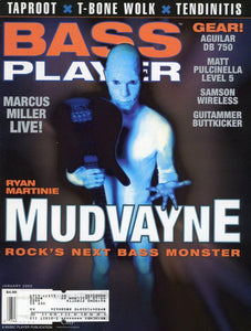 Bass Player Magazine Back Issue - January 2003
