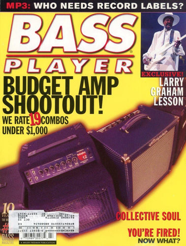 Bass Player Magazine Back Issue - July 1999