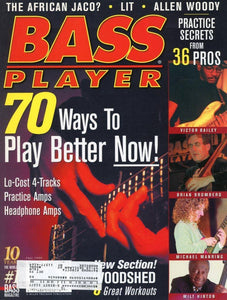 Bass Player Magazine Back Issue - Fall 1999