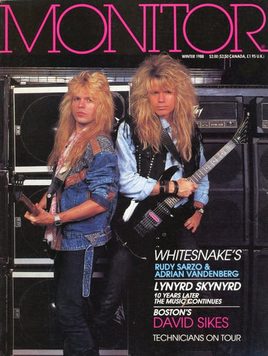 Monitor - Winter 1988 Magazine Back Issue