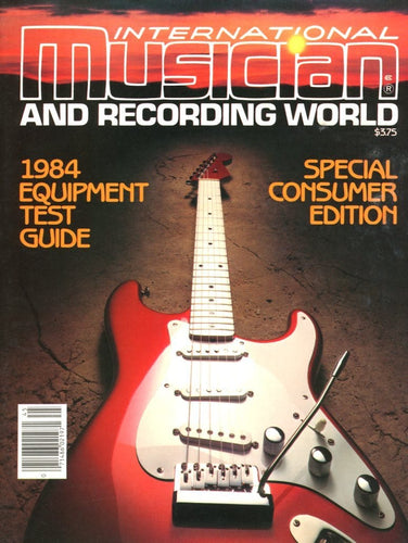 International Musician & Recording World Magazine Back Issue