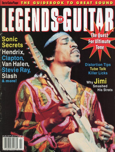 Legends Of Guitar - June 1995 Magazine Back Issue