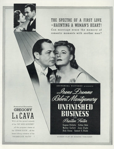 Unfinished Business Movie Advertisement - Vintage Movie Memorabilia - Universal Pictures