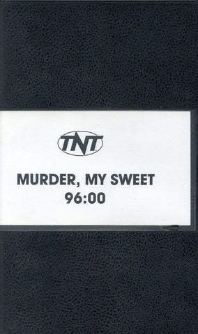 Murder, My Sweet VHS (USED) - Screener VHS Tape - Promotional Movie - TNT Movie - Rare Vintage Collectible