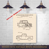 1961 International Scout Patent Digital Download - Gift Idea For A Car Enthusiast - Antique Automobile Wall Decor - Instant Download