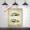 1934 LaSalle Automobile Patent Digital Download - Gift Idea For A Car Enthusiast - Vintage Automobile Wall Decor - Instant Download