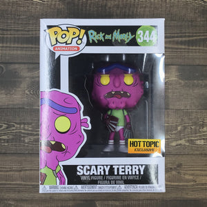 Funko Pop 344 - Scary Terry - Rick And Morty