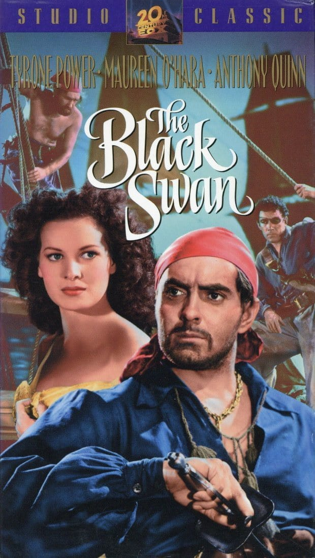The Black Swan VHS (Brand New) - Tyrone Power - Maureen O'Hara - Anthony Quinn