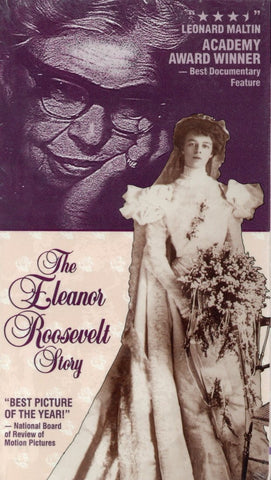 The Eleanor Roosevelt Story VHS (Brand New) - Classic Movie For Sale