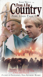 From A Far Country VHS (Brand New) - Pope John Paul II - Sam Neill