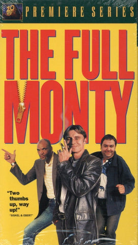 The Full Monty VHS (Brand New) - 20th Century Fox Video