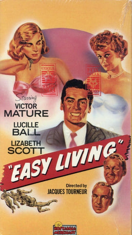 Easy Living VHS (Brand New) - Victor Mature - Lucille Ball - Lizabeth Scott