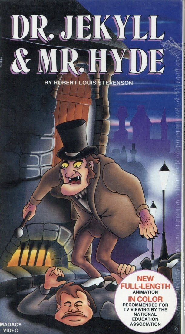 Dr. Jekyll & Mr. Hyde VHS (Brand New) - Robert Louis Stevenson - Cartoon TV Show
