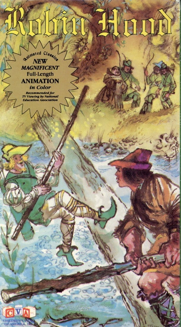Robin Hood VHS (Brand New) - Animated Classic Movie - Cartoon TV Show