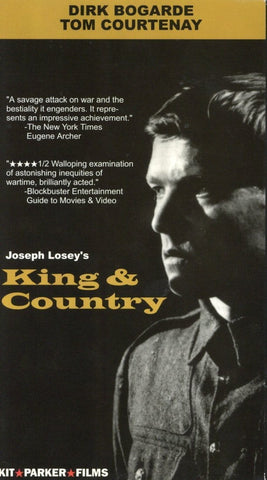 King & Country VHS (USED) - Joseph Losey - Dirk Bogarde - Tom Courtenay - Kit Parker Films
