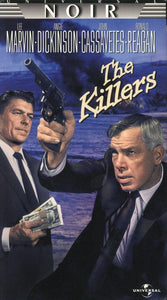 The Killers VHS (USED) - Lee Marvin - Angie Dickinson - John Cassavetes - Ronald Reagan