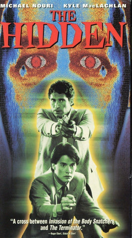 The Hidden VHS (USED) - Michael Nouri - Kyle MacLachlan - Retro Movie For Sale