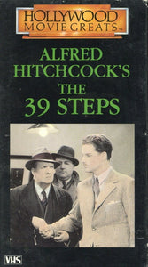 The 39 Steps VHS (USED) - Alfred Hitchcock Memorabilia - Hollywood Movie Greats