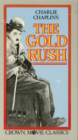 The Gold Rush VHS (Brand New) - Charlie Chaplin - Crown Movie Classic