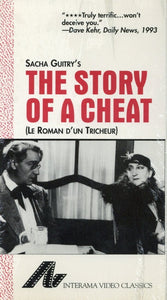 The Story Of A Cheat VHS (Brand New) - Sacha Guitry - Le Roman D'UN Tricheur