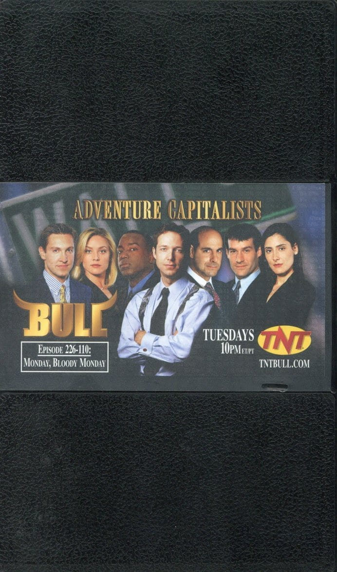 Adventure Capitalists Screener VHS (USED) - Bull - TNT - TV Series