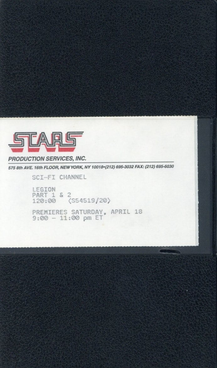 Stars VHS (USED) - SCI-FI Channel - Legion