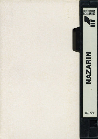 Nazarin VHS (USED) - Screener Movie - Connoisseur Media Collection - Rare Vintage Collectible