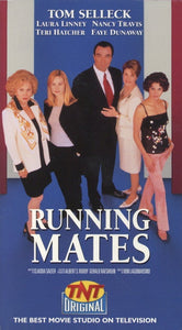 Running Mates VHS (USED) - Tom Selleck Memorabilia - TNT Original Movie