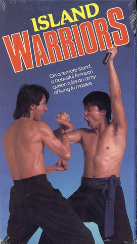 Island Warriors VHS (Brand New) - Kung Fu Movie - Collectors Item For Sale