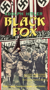 Black Fox VHS (USED) - Nazi Germany Movie - Adolph Hitler VHS Tape