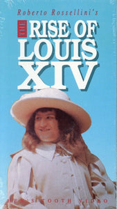 The Rise Of Louis XIV VHS (Brand New) - Hen's Tooth Video - Roberto Rossellini