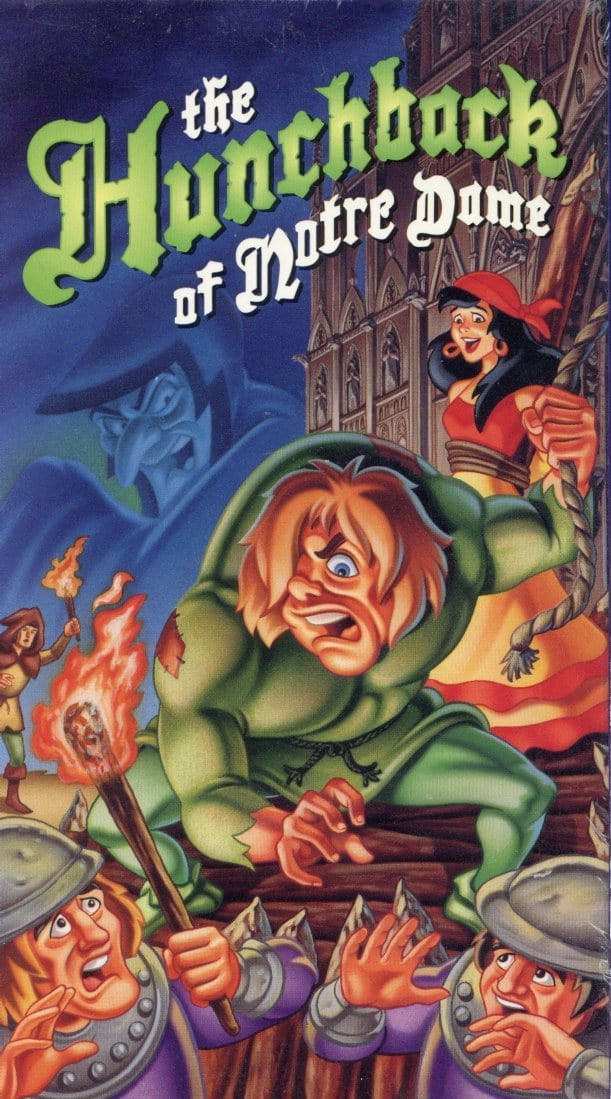 The Hunchback Of Notre Dame VHS (Brand New) - Classic Cartoon Movie