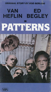 Patterns VHS (Brand New) - Van Heflin - Ed Begley - Rod Sterling
