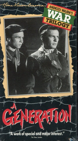A Generation VHS (Brand New) - Home Vision Cinema - Andrzej Wajda's War Trilogy